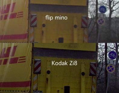 Qualitätsvergleich flip minoHD Zi8