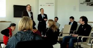 Gespräche zur digitalen Integration